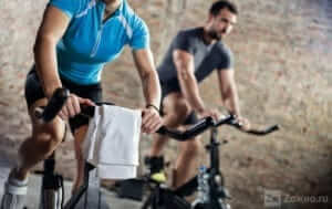 Кардиотренировка для жиросжигания. Велосипед. Сайклинг.