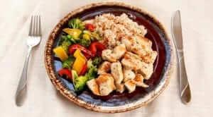 Основной принцип правильного питания: модель тарелки