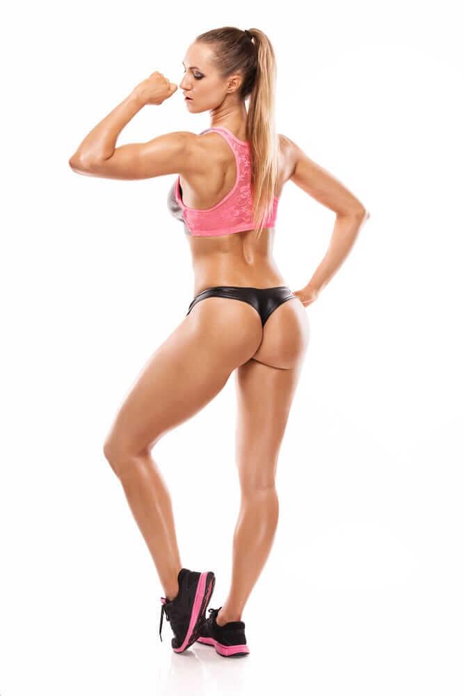 Идеальная фигура - упражнения для набора мышечной массы для девушек
