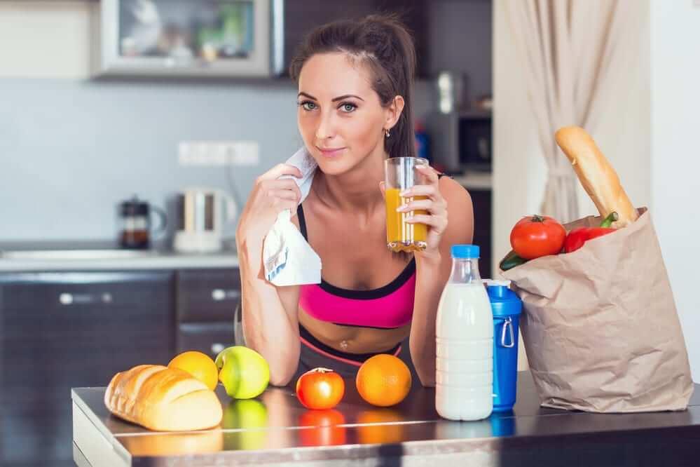 набор массы для девушек питание сбалансированное