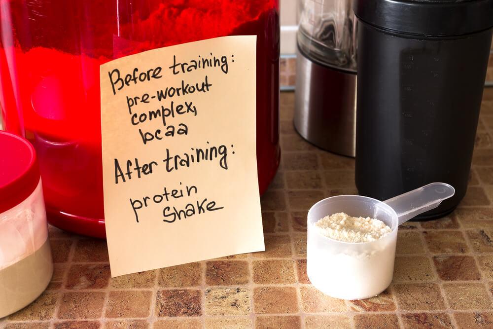 что съесть перед тренировкой